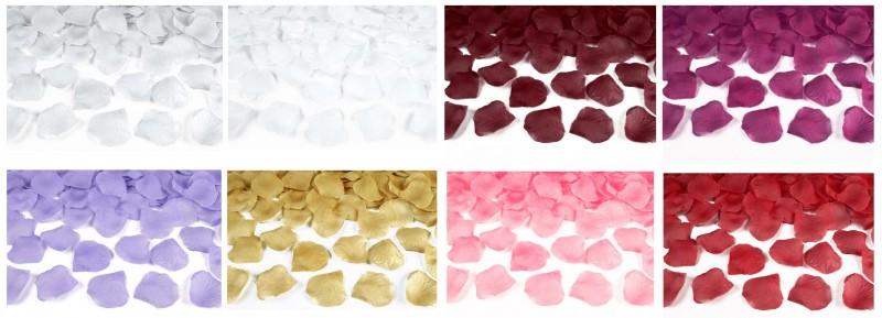 Petali di rosa in tessuto 100 Pz