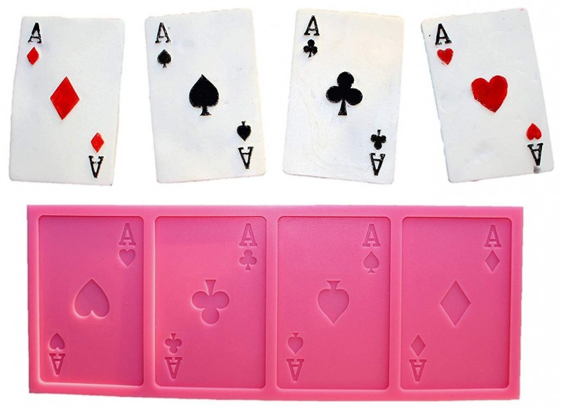 Stampo Silicone Poker