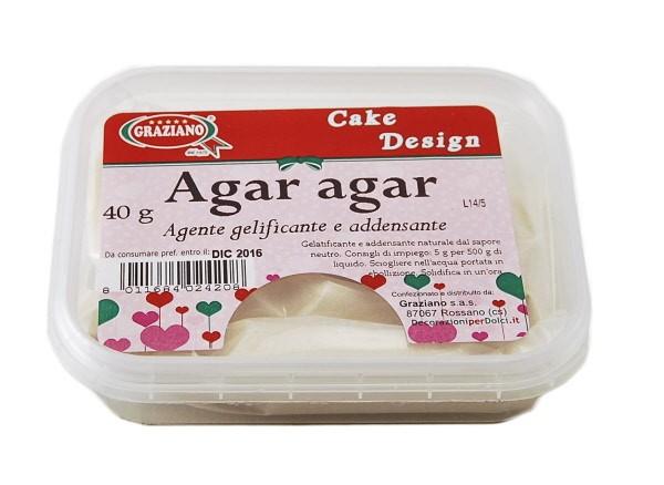 Agar Agar in Polvere 40 g