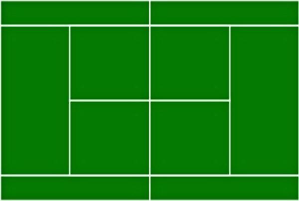Cialda Campo da Tennis