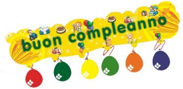 Festoni + 6 palloncini