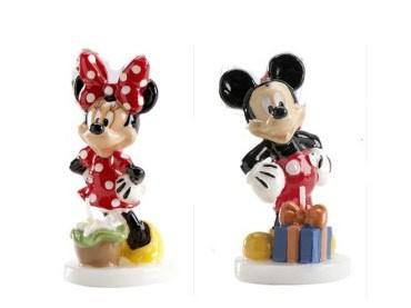 Minnie & Topolino Candelina