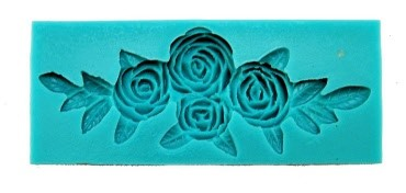 Stampo Silicone 4 Rose