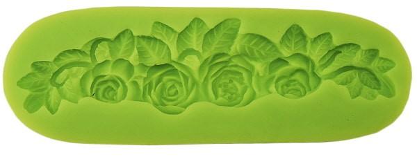 Stampo Silicone Rose Intrecciate