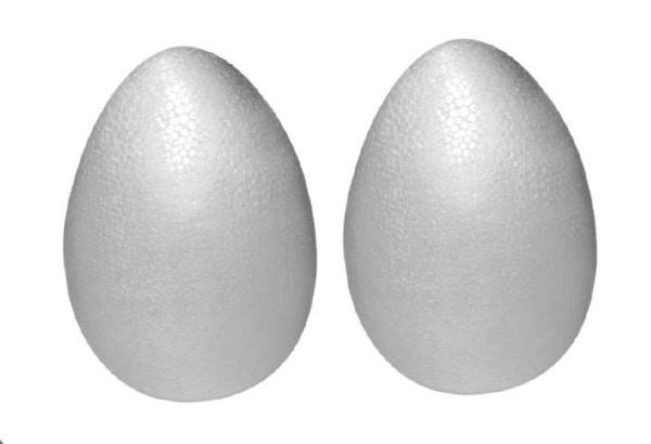 Uova Pasquali polistirolo 9 cm Pz. 2