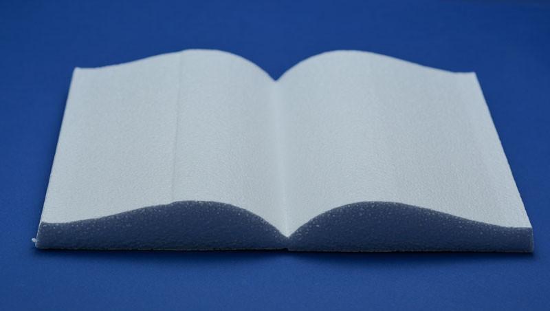 Libro piccolo in polistirolo