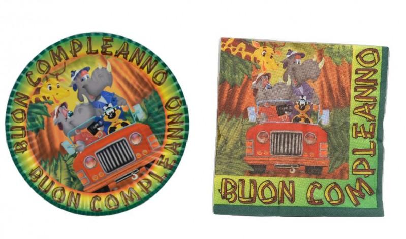 Safari Buon Compleanno Festa
