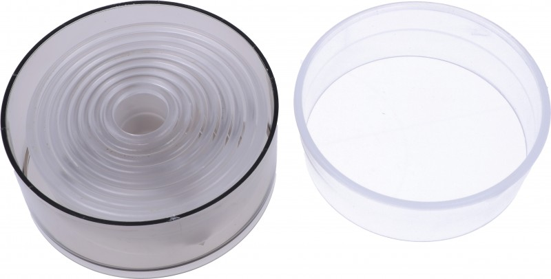 Stampini tagliapasta lisci Plastica Pz.9