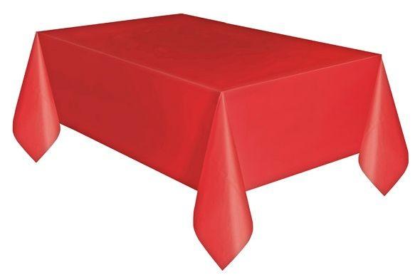 Tovaglia in Plastica Rosso