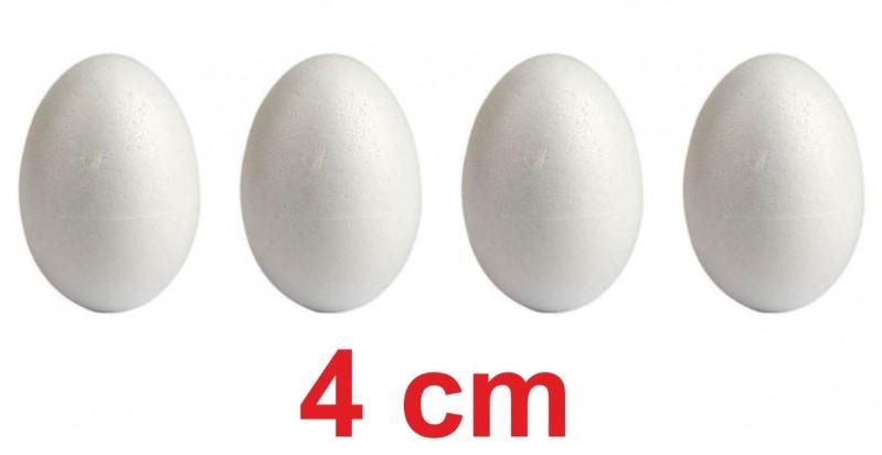 Uova pasquali polistirolo 4 cm 4 pz