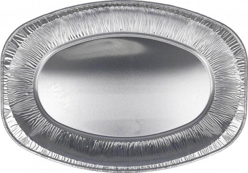 Vassoio Ovale Alluminio