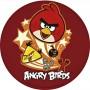 Cialda per torta Angry Birds Graziano