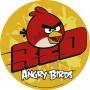 Cialda per torta di compleanno Angry Birds