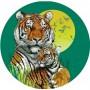 animali cialda torta tigre