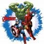 Avengers cialda per torta di compleanno
