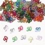 coriandoli per la tavola 50 anni multicolor