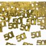 decorazioni tavola 50 anni oro