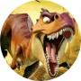 Dinosauri cialda torta 2