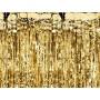 festone tenda oro