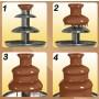 Istruzioni per la fontana di cioccolato