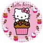 ostia Hello Kitty per torta