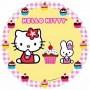 cialda Hello Kitty per torta Graziano
