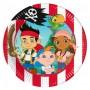Jack e i Pirati piatto piccolo