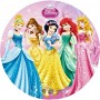 principesse disney cialda per torta di compleanno