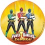 Cialda Power Rangers torta