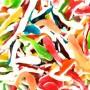 Caramelle gommose squali colorati graziano