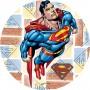 superman cialda torta