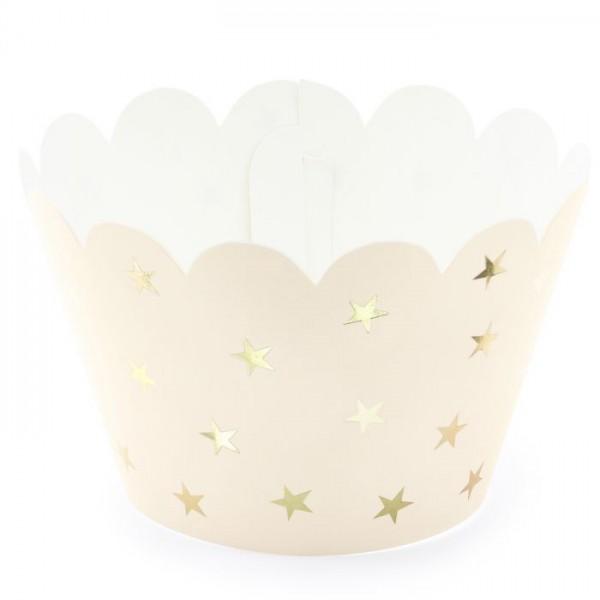 Avvolgi Cupcake Stars 6 Pz