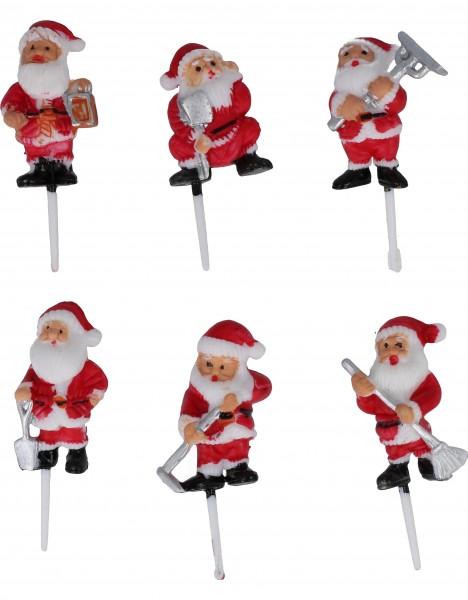 Babbo Natale su Stecco