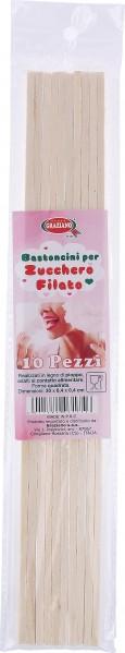 50 ZUCCHERO FILATO BASTONCINI 5x100g zucchero per zucchero filato farbaromazucker barre di legno