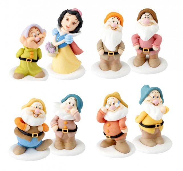 Biancaneve e i 7 nani in zucchero