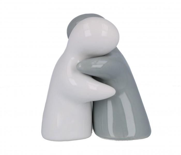 Bomboniera sposi abbracciati