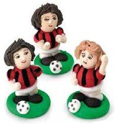 Set Calciatori Rossoneri 3 pz