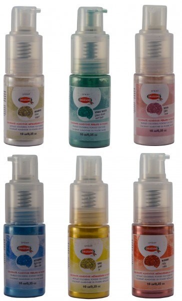 Colorante Glitter Spray