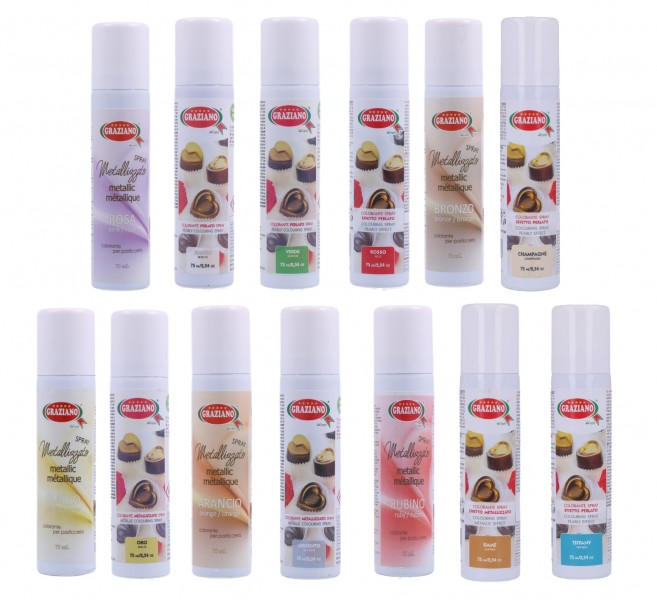 Colorante Metallizzato Spray 75 ml