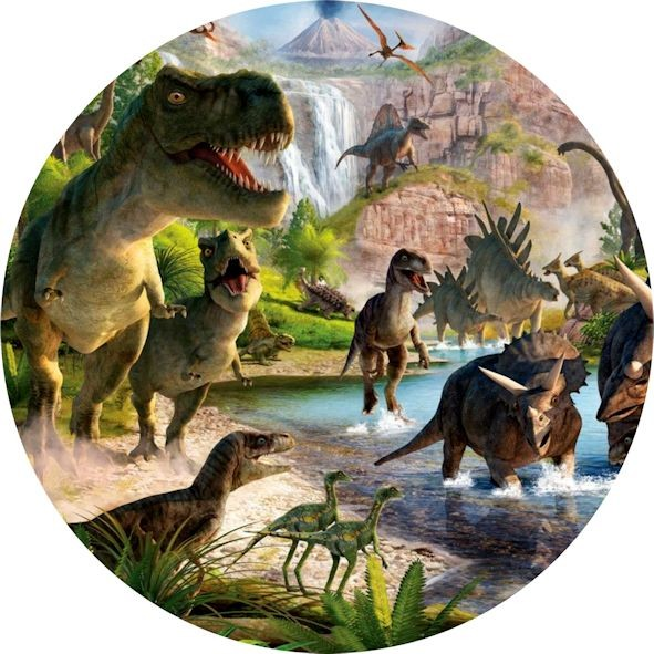 Cialda Dinosauri