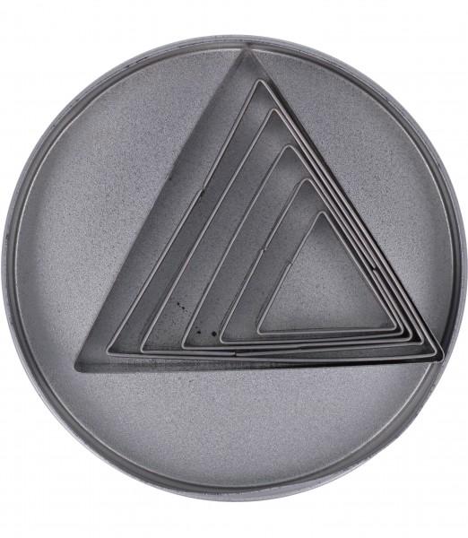 Tagliapasta Acciaio Triangolare Pz.6