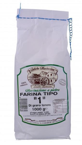 Farina Tipo 1 di grano tenero 1 kg
