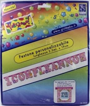 Festone 1 Compleanno Personalizzabile