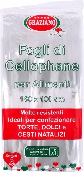 Fogli Cellophane 5 pz