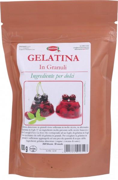 Gelatina Alimentare in Granuli 100 g
