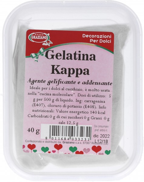 Gelatina Kappa 40 g