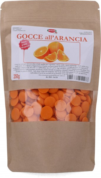 Gocce al gusto Arancia 250 g