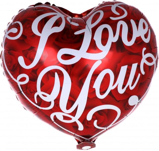 I Love You Palloncino Mylar