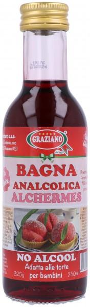 Bagna Alchermes analcolica