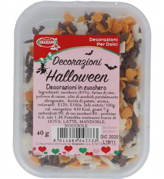 Decorazioni in zucchero Halloween 40 g